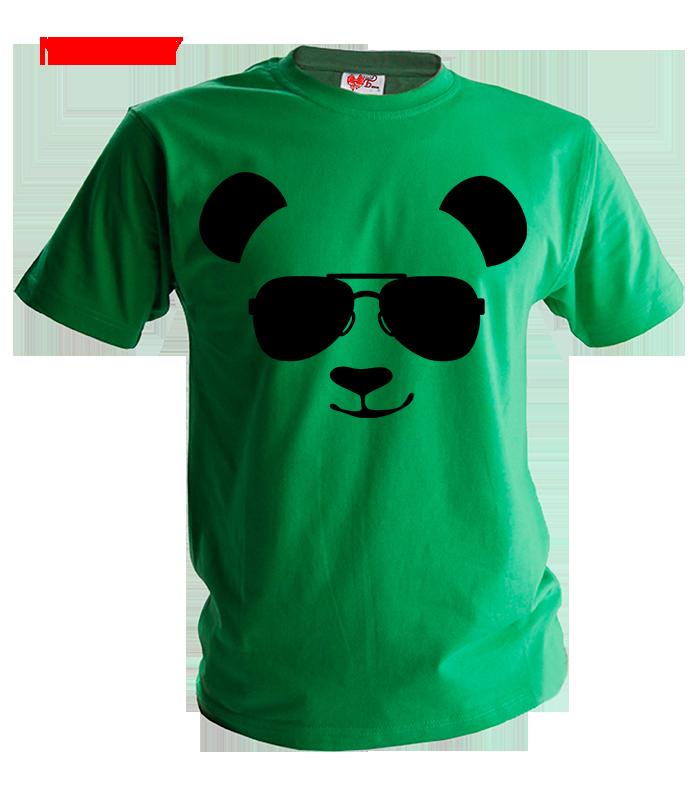Футболка Панда в очках