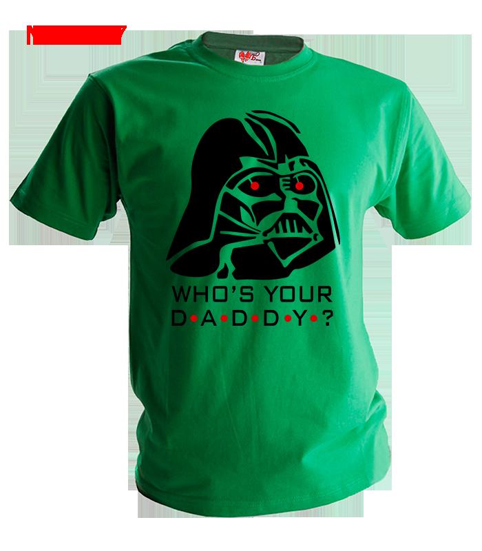 Футболка Футболка  Дарт Вейдер Who s your  daddy ?