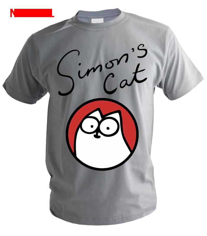Футболка Simon's Cat кот в круге