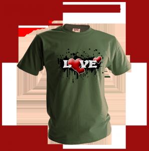 футболки Любовь