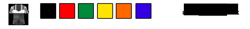 цвета цветных футболокдети